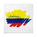Colombiano orgulloso Queen Duvet