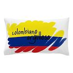 Colombiano orgulloso Pillow Case