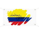 Colombiano orgulloso Banner