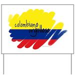 Colombiano orgulloso Yard Sign