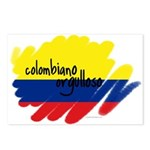 Colombiano orgulloso Postcards (Package of 8)