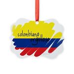 Colombiano orgulloso Picture Ornament