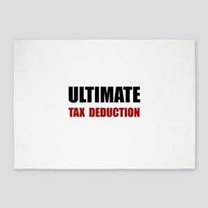 Ultimate Tax Deduction 5'x7'Area Rug