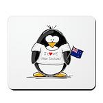New Zealand Penguin Mousepad
