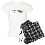 I Love Lefse Women's Light Pajamas