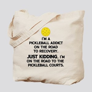Pickleball Addict Tote Bag