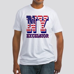 New York NY Excelsior Fitted T-Shirt