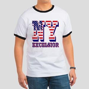 New York NY Excelsior Ringer T