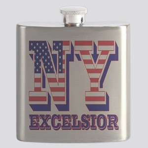 New York NY Excelsior Flask