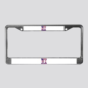 New York NY Excelsior License Plate Frame