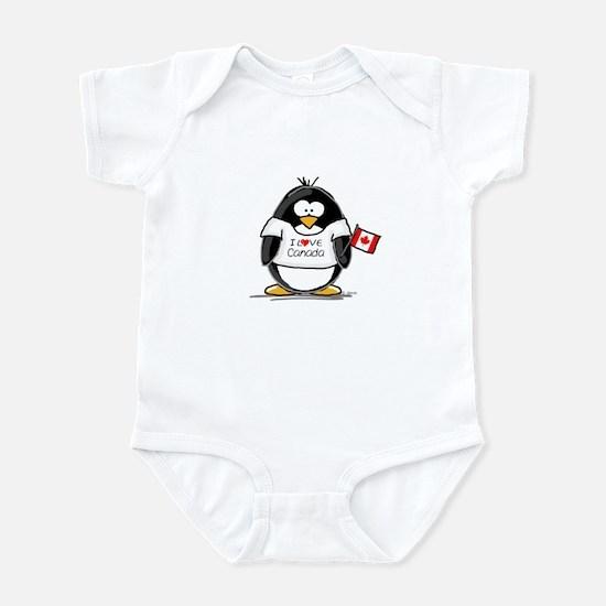 Canada Penguin Infant Bodysuit