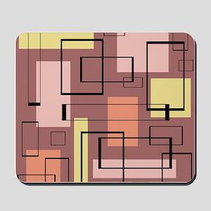 Retro Mid-Century Mousepad