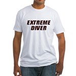 Extreme Diver Fitted T-Shirt
