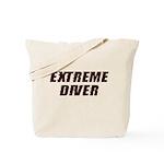 Extreme Diver Tote Bag