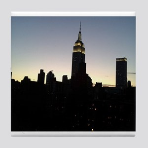 NYC - Empire State Building Skyline Tile Coaster