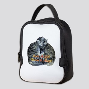 Save A Life! Rescue & Adopt! Neoprene Lunch Bag