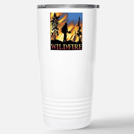 Wildfire Stainless Steel Travel Mug