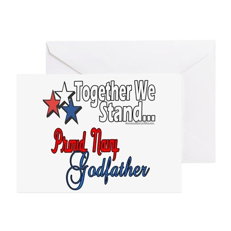 Navy Godfather Greeting Cards (Pk of 10)