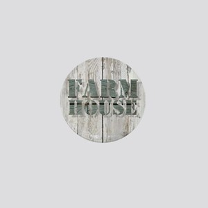 barn wood farmhouse Mini Button