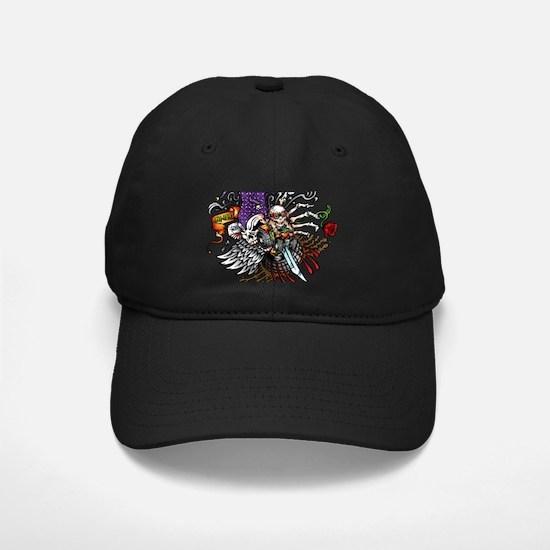 Quad Skully joker Baseball Hat