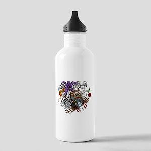 Quad Skully joker Water Bottle