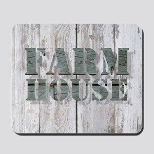 barn wood farmhouse Mousepad