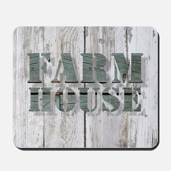 barn wood farmhouse Mousepad