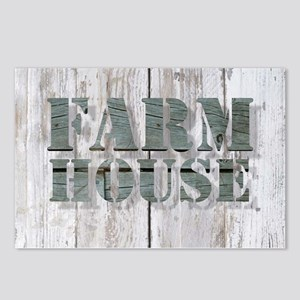 barn wood farmhouse Postcards (Package of 8)