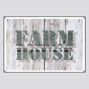 barn wood farmhouse Banner