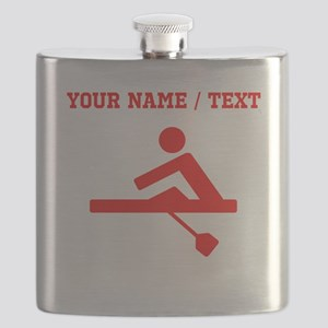 Red Rower (Custom) Flask