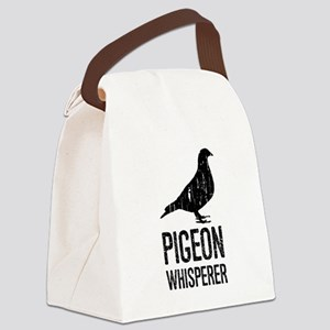 Pigeon Whisperer Canvas Lunch Bag