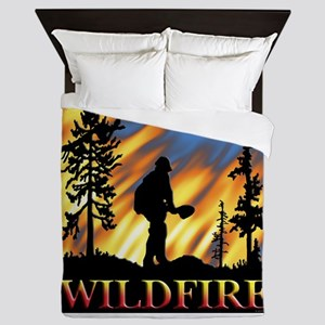 Wildfire Queen Duvet