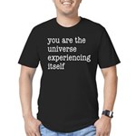 You Are The Universe Men's Fitted T-Shirt (dark)