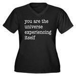 You Are The Women's Plus Size V-Neck Dark T-Shirt