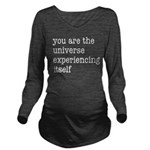 You Are The Universe Long Sleeve Maternity T-Shirt