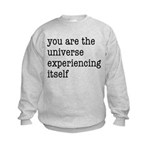 You Are The Universe Kids Sweatshirt