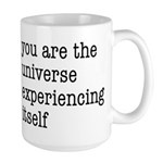 You Are The Universe Large Mug