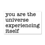 You Are The Universe Car Magnet 20 x 12
