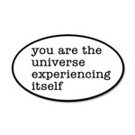 You Are The Universe 20x12 Oval Wall Decal