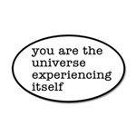 You Are The Universe 35x21 Oval Wall Decal
