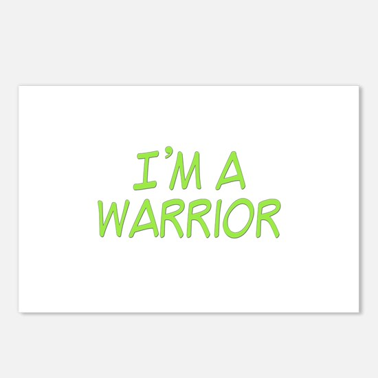 I'm A Warrior [Grn] Postcards (Package of 8)