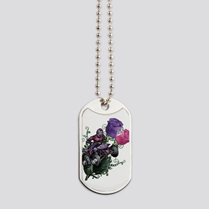 Flower Powered Quad Dog Tags