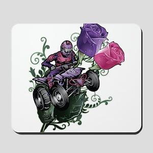 Flower Powered Quad Mousepad