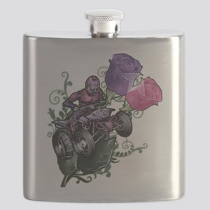 Flower Powered Quad Flask