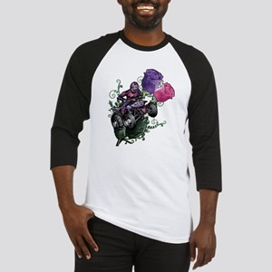 Flower Powered Quad Baseball Jersey