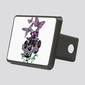 Butter-Flowered Quad Hitch Cover