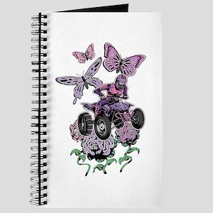 Butter-Flowered Quad Journal