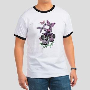 Butter-Flowered Quad T-Shirt
