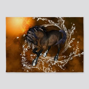 Awesome horse 5'x7'Area Rug