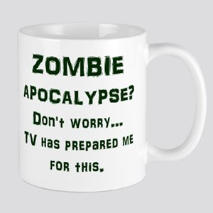 ZOMBIE APOCALYPSE? Don't worry...TV has Mug
